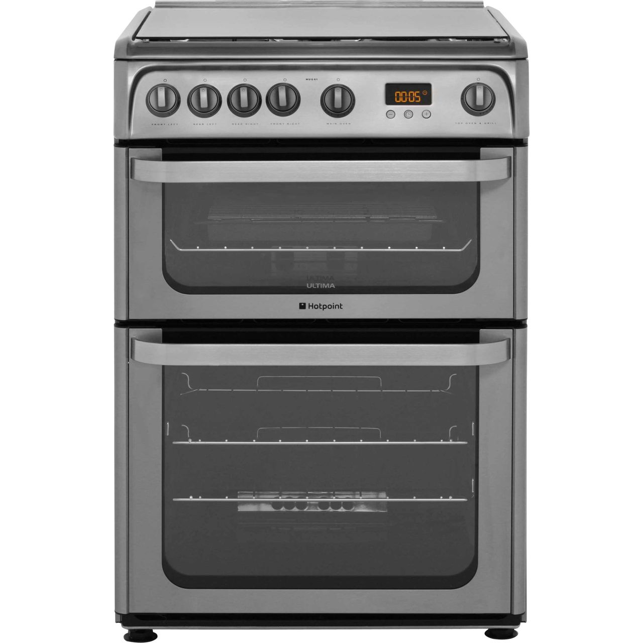 kitchen appliances pay monthly how much to reface cabinets hug61x ss hotpoint gas cooker stainless steel ao