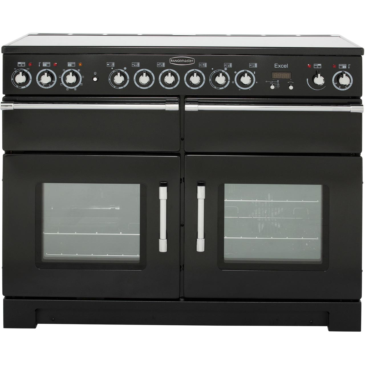 Rangemaster Exl110ecbl C Excel 109cm 6 Burners A Electric Range Cooker Black
