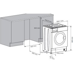 Beko Oven Wiring Diagram 96 Honda Civic Stereo Slimline Integrated Washing Machine  Kitchen And Dining Room