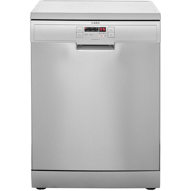 AEG Favorit F56305M0 Free Standing Dishwasher in Stainless
