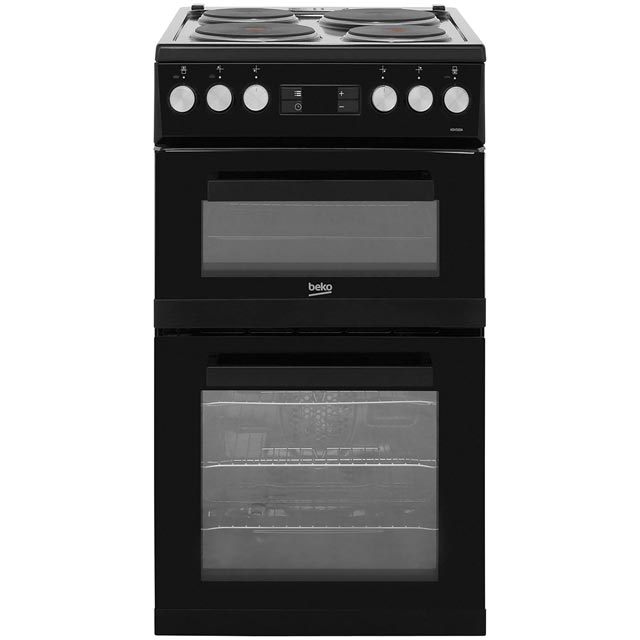 beko electric cooker wiring diagram ra rodeo stereo kdv555aw wh white ao com 50cm with solid plate hob black a rated