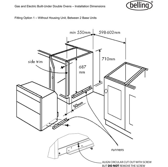 Super Gas Oven Dimensions @QU14