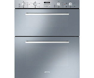 smeg double oven wiring diagram 04 f150 headlight dosf44x ss electric ao com cucina built under stainless steel a rated