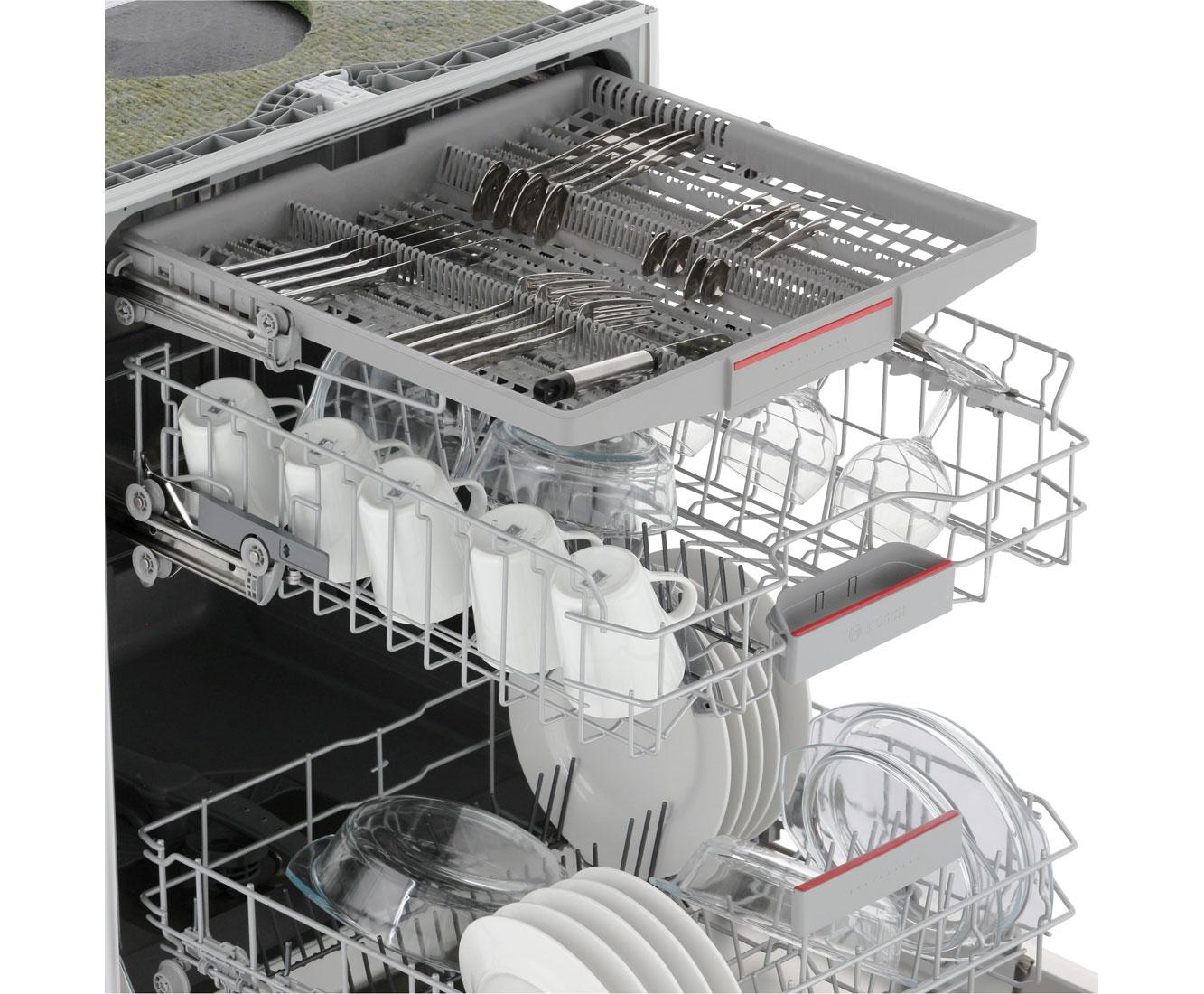 Spulmaschine Besteckschublade Constructa Cg4a55j5 A Integrierbarer