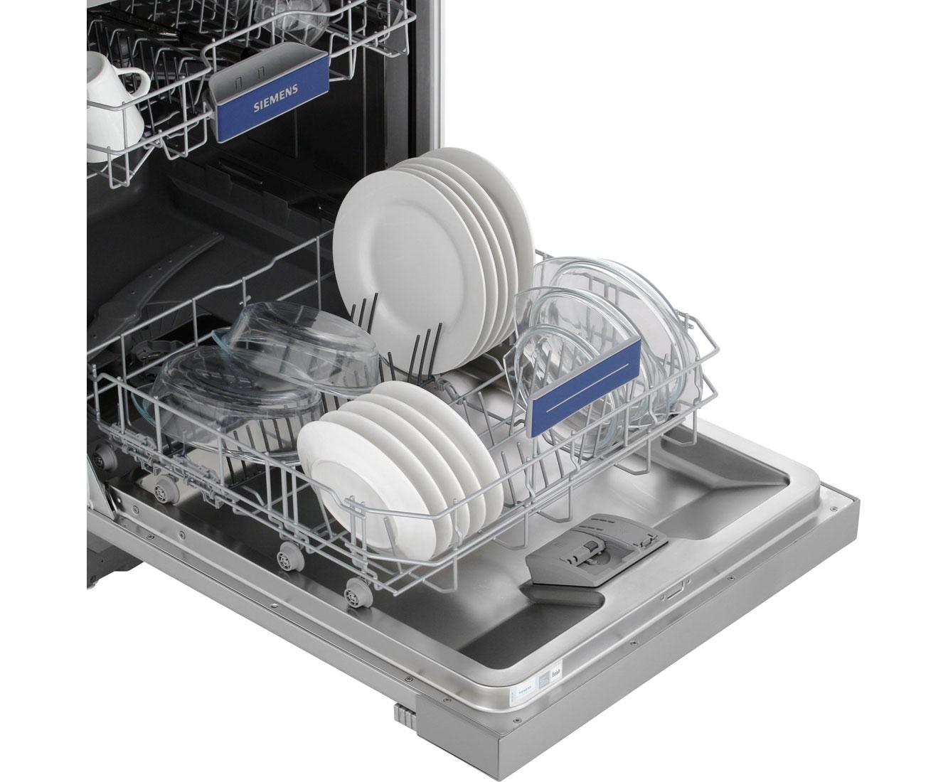 Besteckschublade Siemens Geschirrspüler Einräumen Integrierte