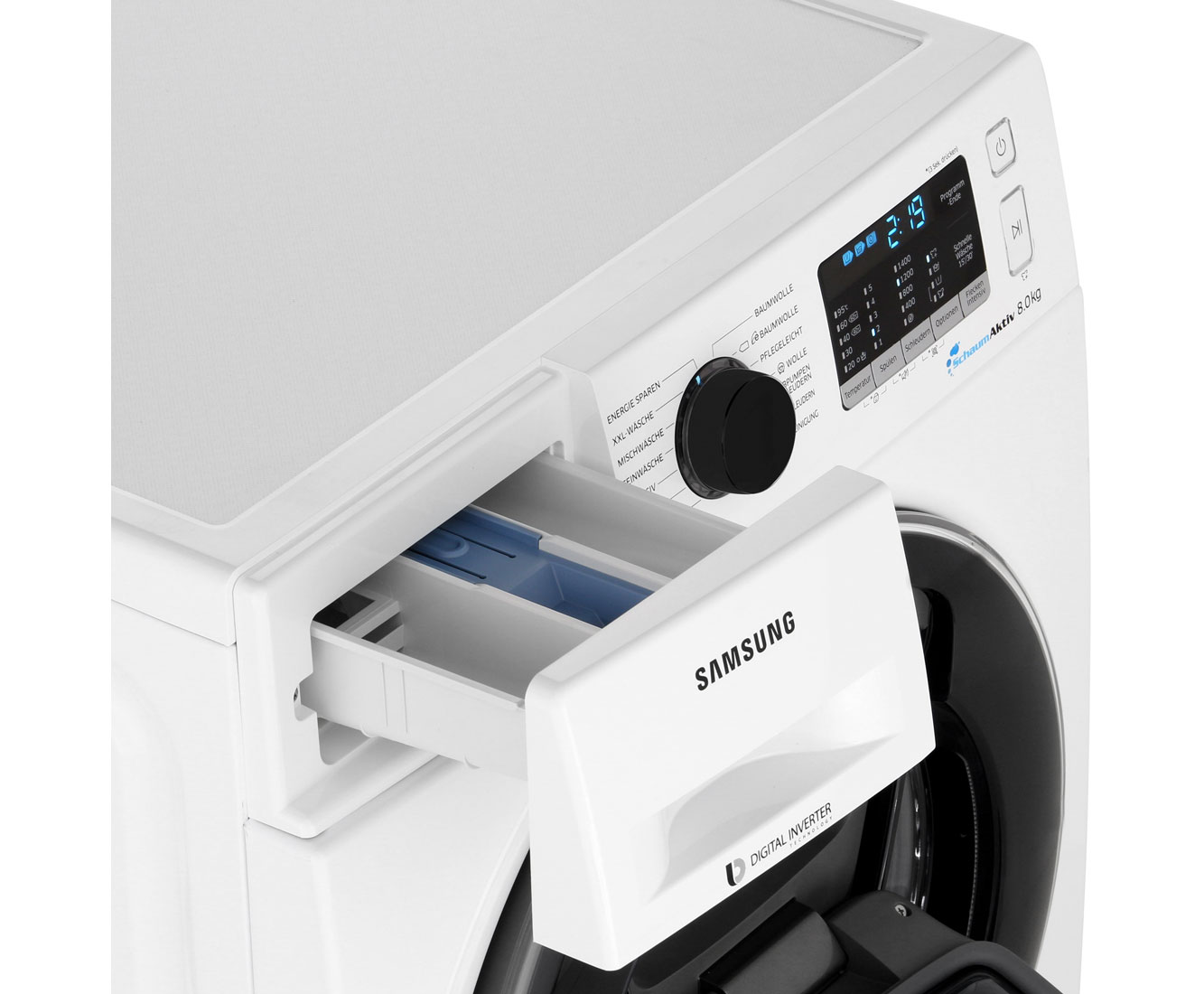 Samsung Addwash 5500 Ww80K5400Uw Waschmaschine 8 Kg, 1400 U/Min, A+++