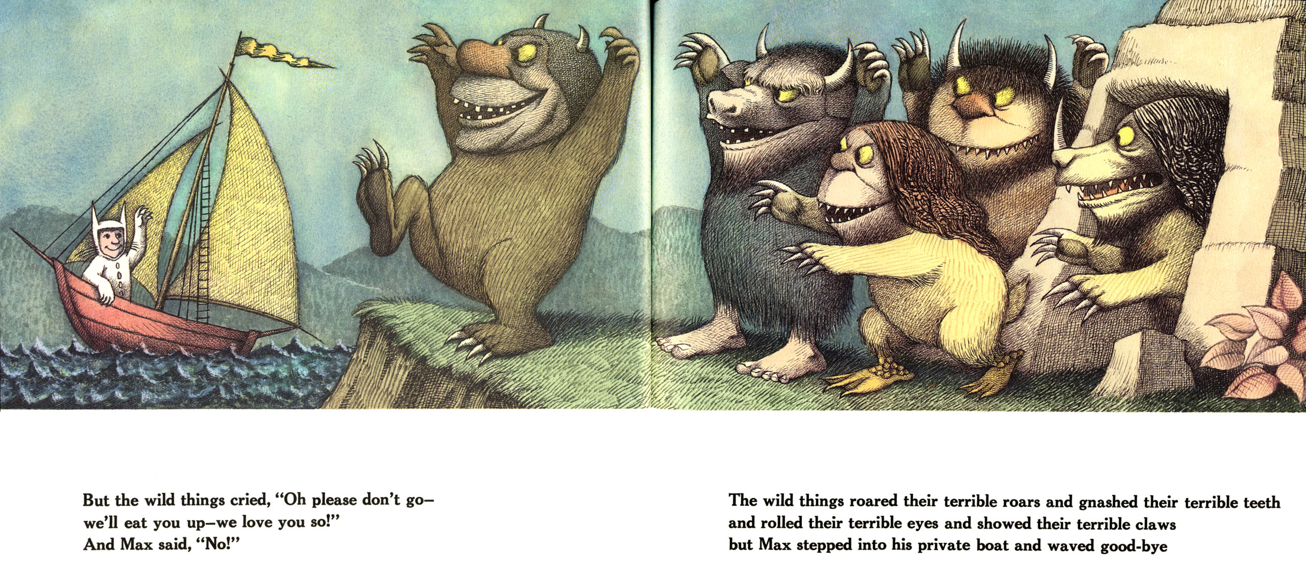Image result for where the wild things are book