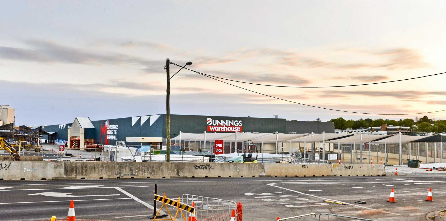 hight resolution of take a look new bunnings warehouse takes shape
