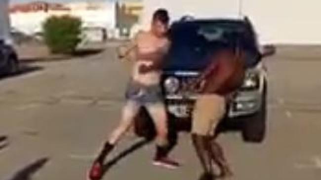 brutal street fights caught