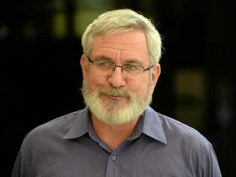 Greens leader Andrew Bartlett in Rockhampton last year.