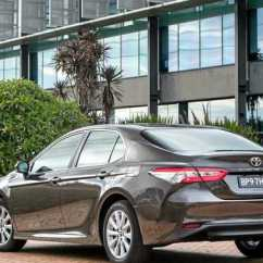 All New Camry Sport Head Unit Grand Veloz Time For The Toyota To Shrug Off Cardigan Sunshine Coast Ascent Has Improved Safety Equipment And A Slightly More Sporty Stance