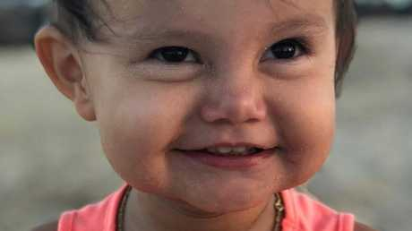 Sienna Rose Pereira died of the flu on July 8th. Picture: Channel 7