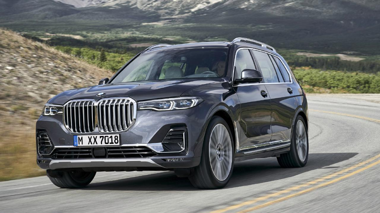Bmw X7 Seven Seat Suv To Be The Brand S New Luxury Flagship