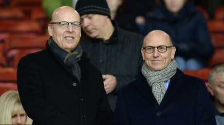 The Glazer family, Joel right and Avram left, have never said they want to sell - but £3.8bn could tempt them