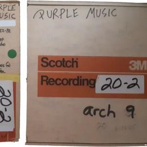 Prince - Purple Music - Original tapes (apoplife.nl)