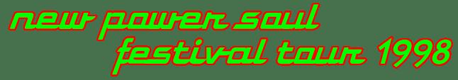 New Power Soul Festival Tour (princevault.com)