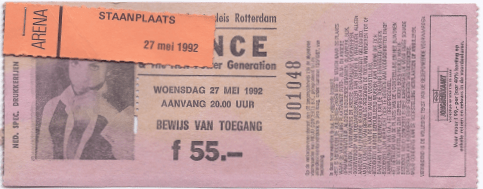 Prince & The New Power Generation 27-05-1992 concertkaartje (apoplife.nl)