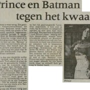 Prince - Batman recensie - Leeuwarder Courant 07-07-1989 (apoplife.nl)