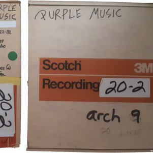 Prince - Purple Music - Originele tapes (apoplife.nl)