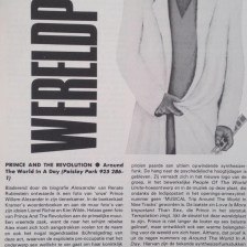 Prince And The Revolution - Around The World In A Day recensie - OOR 04-05-1985 (apoplife.nl)