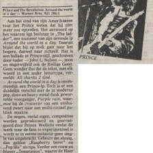 Prince And The Revolution - Around The World In A Day recensie - de Volkskrant 26-04-1985 (apoplife.nl)