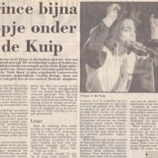 Prince - Nude Tour - Première recensie Alkmaarsche Courant 05-06-1990 (apoplife.nl)