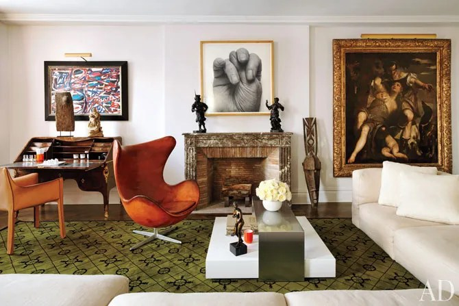 An Eclectic Fifth Avenue Apartment  Architectural Digest
