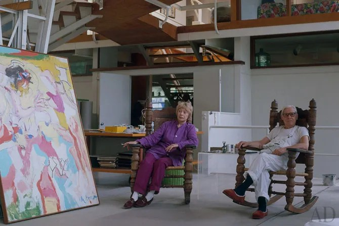AD Visits Willem de Kooning  Architectural Digest