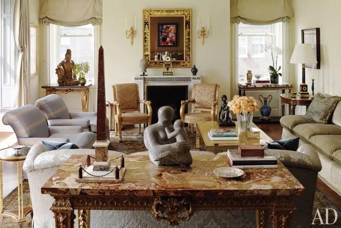 Michael S Smith Decorates A Grand Manhattan Home Architectural