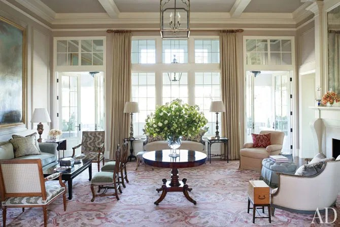 Look Inside Suzanne Rheinsteins Georgian Style House In