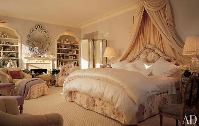 Mario Buattas Romantic Bedrooms Photos  Architectural Digest