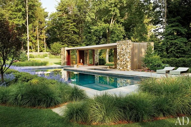 Frank Lloyd Wright Falling Water Wallpaper Tour A Contemporary Connecticut Poolhouse Architectural