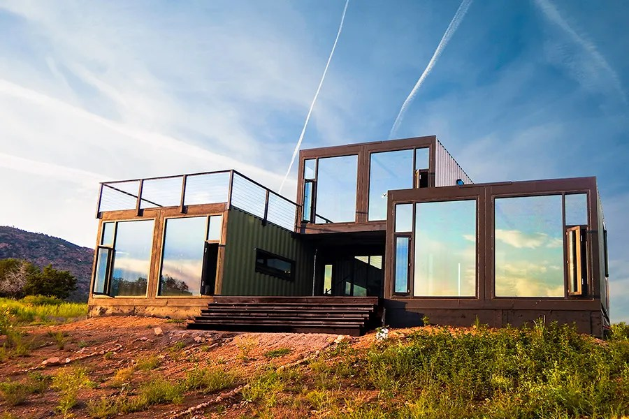 Shipping Container Architecture Around the World Photos  Architectural Digest