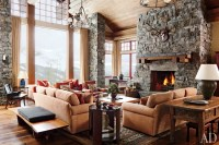 A Rustic Yet Modern Montana Ski House by Michael S. Smith ...