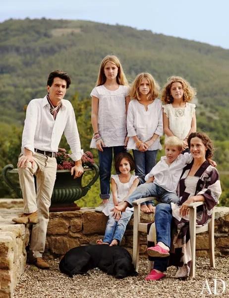 Benedikt Bolza Transforms A Rustic Farmhouse In Umbria