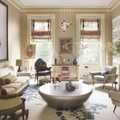 Interior Designs Of Living Room Pictures Ceiling Design Philippines 31 Ideas From The Homes Top Designers Architectural In Ad100 Designer Muriel Brandolinis Eclectic Manhattan Townhouse Antipodal Shopperby George Condo Is Displayed