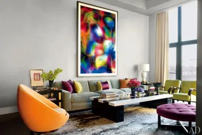 apartment living room designs accent wall colors for with dark furniture 31 ideas from the homes of top designers architectural thomas ruffs photograph substrat 24 i dominates jamie drakes manhattan