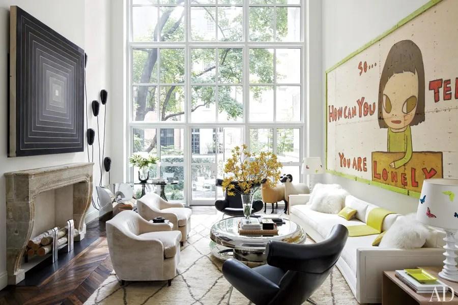 Designer Delphine Krakoff Renovates a Manhattan Townhouse  Architectural Digest