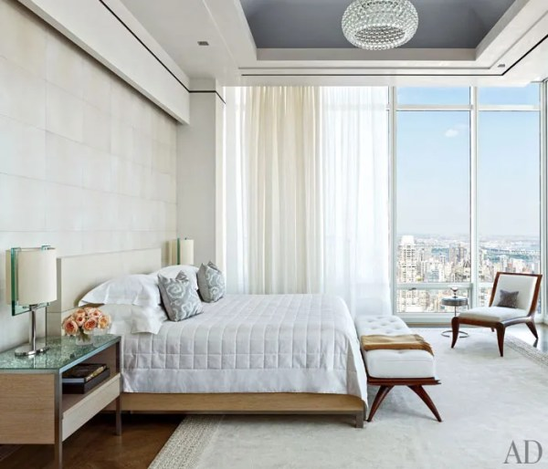 architectural digest bedroom designs Rockwell Group Creates a Modern New York Apartment Photos | Architectural Digest