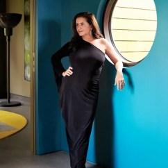 Side Lamps For Living Room Glass Door Designs Muriel Brandolini's House In Hampton Bays Photos ...