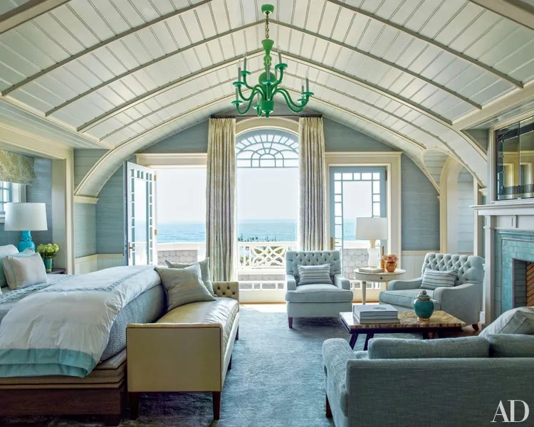 cape cod beach chair wicker outdoor a stunning hamptons house with modern-meets-victorian interiors photos | architectural digest