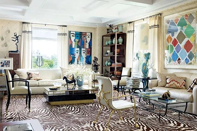 Interior Designer Richard Mishaans ArtFilled Residence