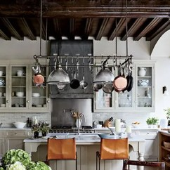 Pot Racks For Kitchen Remodeling Silver Spring Md The Ultimate In Chic Organization Architectural Digest