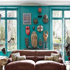 House Of Turquoise Living Room Ashley How To Paint A 10 Steps Painting Walls Like Diy Pro Architectural Digest
