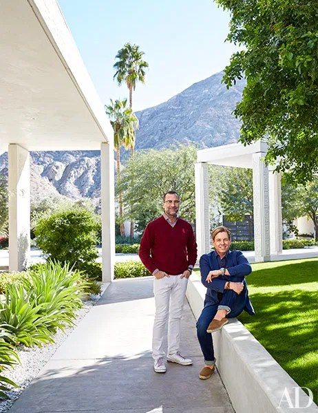 At Home In Palm Springs With Ambassador James Costos And Designer Michael S Smith