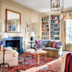 Persian Rug Modern Living Room Side Tables Ideas 29 Oriental Rugs For Every Space Architectural Digest Himes Gomez Furnished The Library With An Exquisite Carpet From Doris Leslie Blau A Top Dealer Decorators And Antiquarians Alike