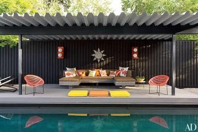 A pool pavillion