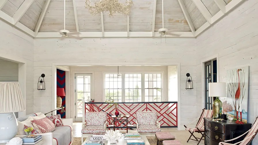 beach inspired living rooms contemporary wall clocks for room 21 that do decor right architectural digest