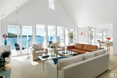 beach inspired living rooms large artwork for room uk 21 that do decor right architectural skylights in vaulted ceilings brighten the of this hugh newell jacobsendesigned residence