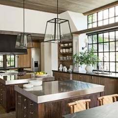 Kitchen Pendants Banquettes For Sale 31 Kitchens With Pretty Pendant Lighting Architectural Digest Sconces From Urban Electric Co Illuminate The Sink Areas And Lights Designed By Rela